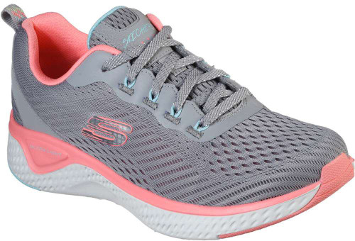 Skechers Solar Fuse Cosmic View Womens Category: Cross Training Color: Grey - Pink ItemNumber: W149051GYPK