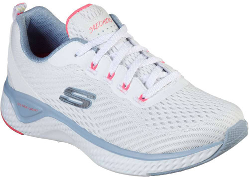 Skechers Solar Fuse Cosmic View Womens Category: Cross Training Color: White - Black ItemNumber: W149051WBLP