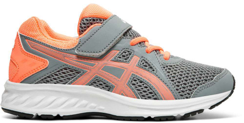 Asics Jolt 2 PS Boys Category: Running Color: Sheet Rock - Sun Coral ItemNumber: B1014A034-022