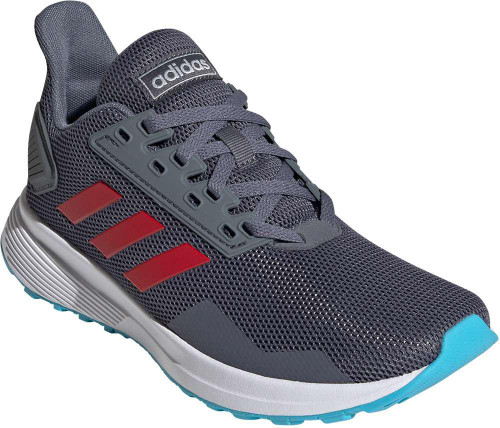 Adidas Duramo  9 Boys Category: Running Color: Onix - Scarlet - Bright Cyan ItemNumber: BEG7899