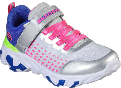 Skechers Techno Strides Rhythm Runners Girls Category: Cross Training Color: Silver - Multi ItemNumber: G80821L-SMLT