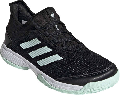 Adidas AdiZero Club Girls Category: Fashion Sneakers Color: Core Black - Dash Green - Cloud White ItemNumber: GEH1106