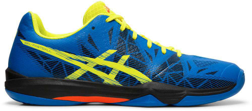 Asics GEL-Fastball 3 Mens Category: Indoor Court Color: Lake Drive - Sour Yuzu ItemNumber: ME712N-401