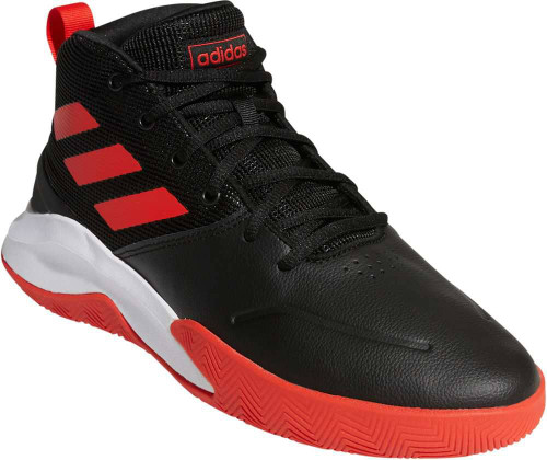 Adidas Own The Game Wide Mens Category: Basketball Color: CoreBlack - Active Red - White ItemNumber: MEF0746