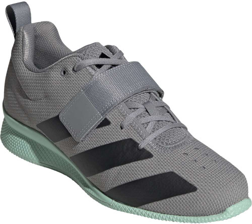 Adidas Adipower Weightlifting II Mens Category: Cross Training Color: GreyThree - Blk - GreenTin ItemNumber: MEG1215