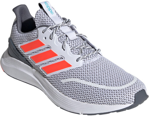 Adidas Energyfalcon Mens Category: Running Color: Cloud White - Solar Red - Onix ItemNumber: MEG8391