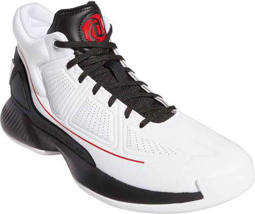 Adidas D Rose 10 Mens Category: Basketball Color: White - Core Black - Scarlet ItemNumber: MEH2369