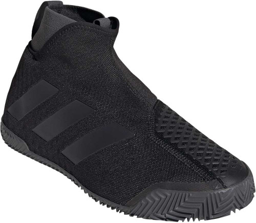 Adidas Stycon M Clay Mens Category: Tennis Color: Core Black - Night Met. - Grey Six ItemNumber: MFV2569