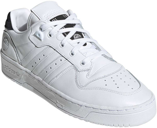 Adidas Rivalry Low Mens Category: Fashion Sneakers Color: Cloud White - Cloud White - Core Black ItemNumber: MFV4759