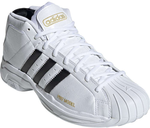 Adidas Pro Model 2G Mens Category: Basketball Color: Core Black - Cloud White - Core Black ItemNumber: MFV8049
