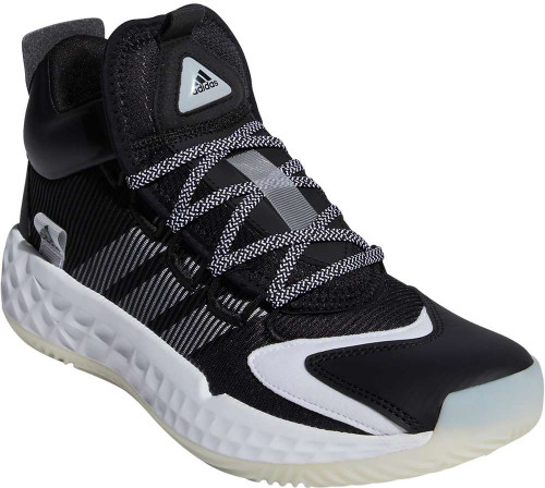 Adidas Pro Boost Mid Mens Category: Basketball Color: Core Black - White - Core Black ItemNumber: MFW9512