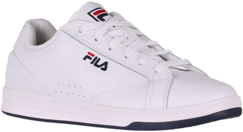 Fila Reunion Womens Category: Fashion Sneakers Color: White - Fila Navy - Fila Red ItemNumber: W5CM00741-125