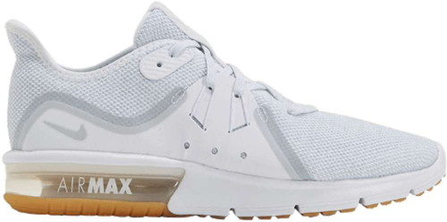 Nike Air Max Sequent 3 Womens Category: Cross Training Color: White - Pure Platinum ItemNumber: W908993-101