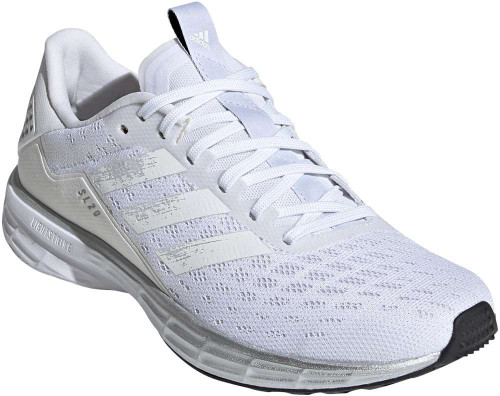 Adidas SL20 Womens Category: Running Color: Cloud White - Core White - Core Black ItemNumber: WEG2052