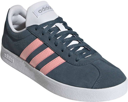 Adidas VL Court 2-0 Womens Category: Fashion Sneakers Color: Legacy Blue - GloryPink - MatteSilver ItemNumber: WEG4111
