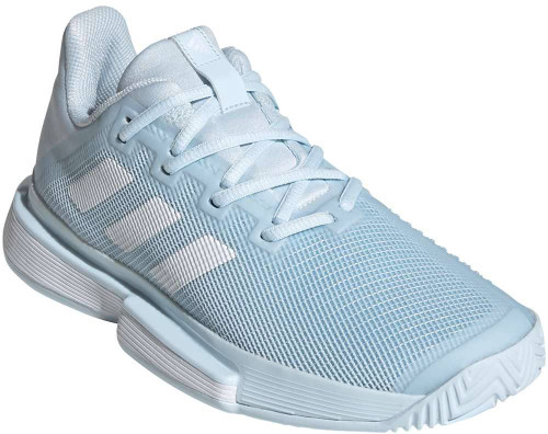 Adidas SoleMatch Bounce Womens Category: Tennis Color: Sky Tint - Cloud White - Sky Tint ItemNumber: WEH2866