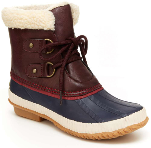 Jambu Cleveland Womens Category: Boots Color: Burgundy ItemNumber: WB9CLV05