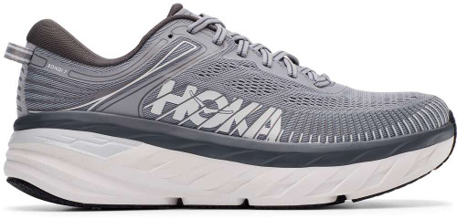 Hoka One One M BONDI 7 X-WIDE Mens Category: Running Color: Wild Dove - Dark Shadow ItemNumber: M1117033-WDDS