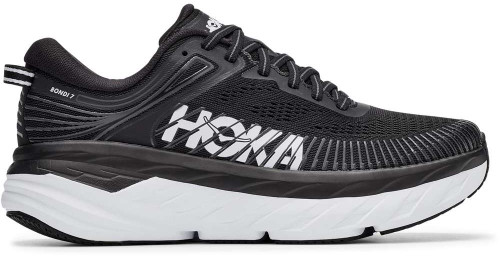 Hoka One One W BONDI 7 WIDE Womens Category: Running Color: Black - White ItemNumber: W1110531-BWHT