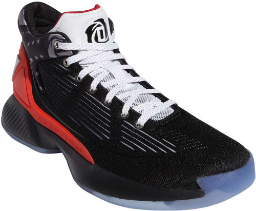 Adidas D Rose 10 Mens Category: Basketball Color: Core Black - Sky Tint - Scarlet ItemNumber: MEH2000