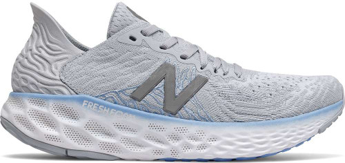New Balance Fresh Foam 1080v10 Womens Category: Running Color: Light Cyclone with Team Carolina and Grey ItemNumber: W1080G10