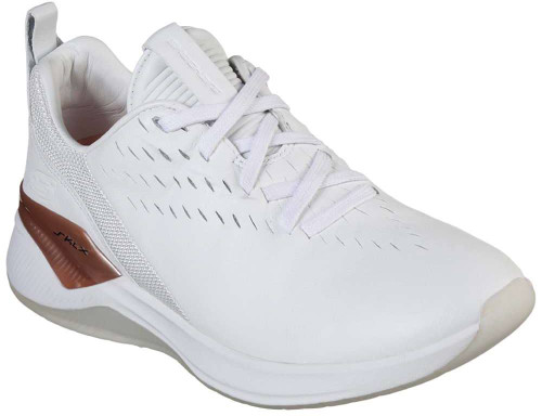 Skechers Modena Ceprano Womens Category: Walking Color: White - Rose Gold ItemNumber: W13238WTRG