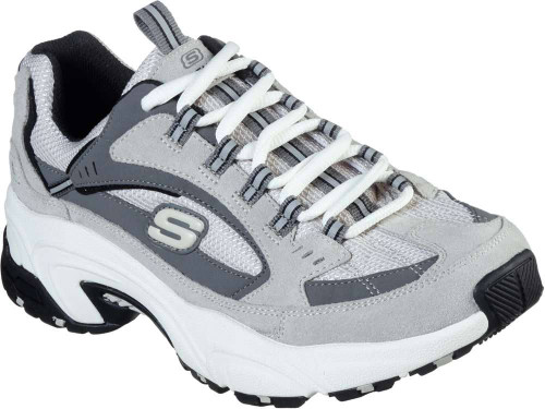 Skechers Stamina Cross Road Womens Category: Fashion Sneakers Color: Grey ItemNumber: W13450GRY