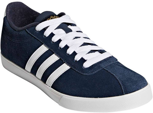 Adidas Courtset Womens Category: Fashion Sneakers Color: Collegiate Navy - White - Metallic Gold ItemNumber: WAW4212