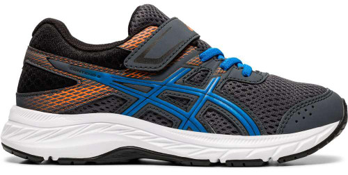 Asics Contend 6 PS Boys Category: Running Color: Carrier Grey - Directoire Blue ItemNumber: B1014A087-020