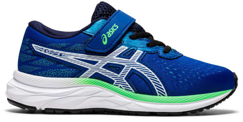 Asics Pre Excite 7 PS Boys Category: Running Color: Asics Blue - White ItemNumber: B1014A115-401