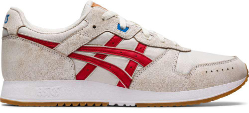 Asics Lyte Classic Mens Category: Fashion Sneakers Color: Cream - Classic Red ItemNumber: M1191A333-100