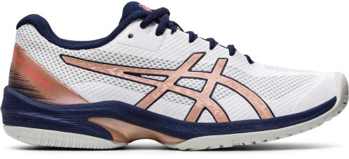 Asics Court Speed FF Womens Category: Tennis Color: White - Rose Gold ItemNumber: W1042A080-103