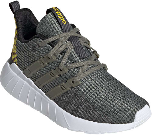 Adidas Questar Flow Boys Category: Running Color: Grey Six - Legacy Green - Eqt Yellow ItemNumber: BEG3735