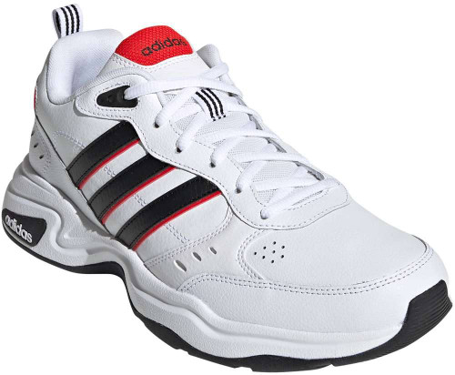 Adidas Strutter Wide Mens Category: Fashion Sneakers Color: Cloud White - Core Black - Active Red ItemNumber: MEG5140