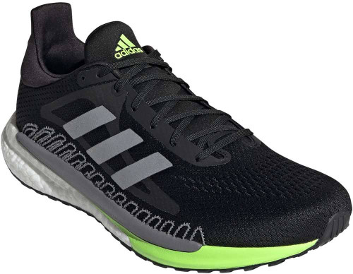 Adidas Solar Glide 3 Mens Category: Running Color: Core Black - Silver Metallic - Signal Green ItemNumber: MFV7254