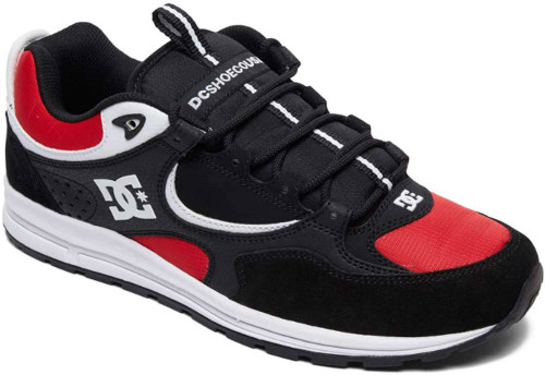 DC Shoes Kalis Lite Mens Category: Skate Color: Black - Athletic Red - White ItemNumber: MADYS100291-KAW