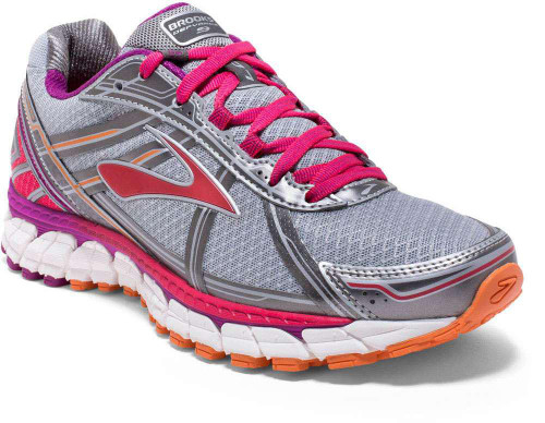 Brooks Defyance 9 Womens Category: Running Color: Silver - Charcoal - Paradise Pink ItemNumber: W1202051B-003