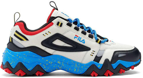Fila Oakmont TR Mens Category: Fashion Sneakers Color: Silverbirch - Black - Electricbluelemonade ItemNumber: M1JM01258-057