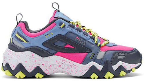 Fila Oakmont TR Womens Category: Fashion Sneakers Color: Pleinair - Pinkglo - Folkstonegrey ItemNumber: W5JM01249-670
