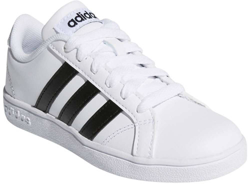 Adidas Baseline Boys Category: Fashion Sneakers Color: Cloud White - Core Black - Cloud White ItemNumber: BAW4299