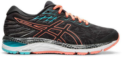 Asics GEL-Cumulus 21 LS Womens Category: Running Color: Graphite Grey - Sun Coral ItemNumber: W1012A542-020