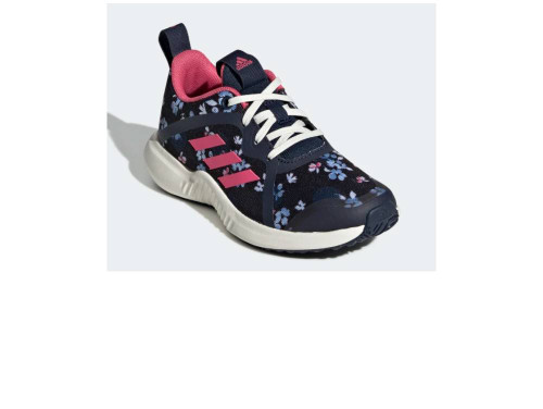Adidas FortaRun X K Girls Category: Running Color: Core Black - Real Pink - Collegiate Navy ItemNumber: GEF2617