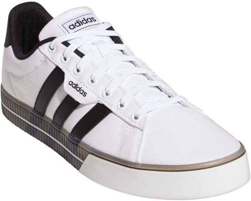 Adidas Daily 3-0 Mens Category: Fashion Sneakers Color: White - Core Black - Core Black ItemNumber: MFW7049