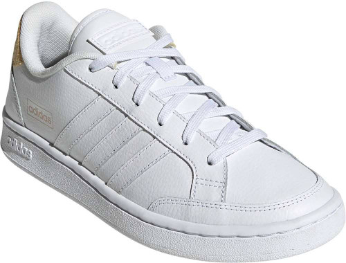 Adidas Grand Court SE Womens Category: Fashion Sneakers Color: White - White - Orange Tint ItemNumber: WFW3301