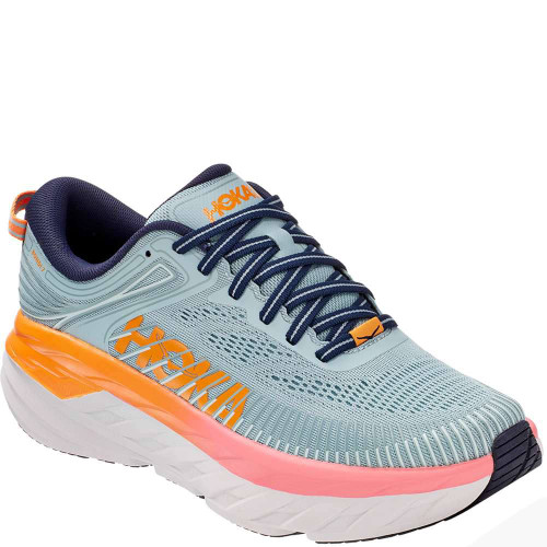 Hoka One One Bondi 7 Womens Category: Running Color: Blue Haze - Black Iris ItemNumber: W1110519-BHBI