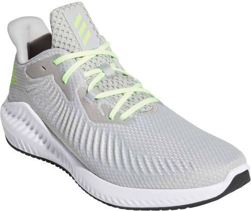Adidas Alphabounce 3 Mens Category: Running Color: Grey Two - Signal Green - Grey One ItemNumber: MEG1450