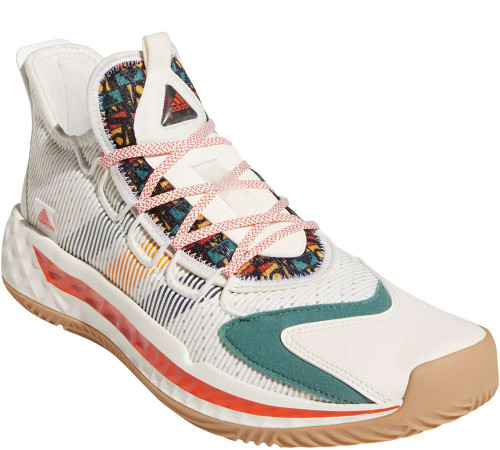 Adidas Pro Boost Low Mens Category: Basketball Color: Chalkwhite - Collegiatenavy - Activegold ItemNumber: MFW9526