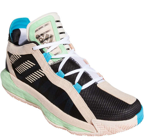 Adidas Dame 6 GCA Mens Category: Basketball Color: Core Black - White - Glory Mint ItemNumber: MFY0875