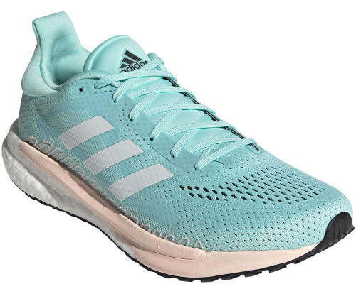 Adidas Solar Glide 3 Womens Category: Running Color: Frost Mint - White - Pink Tint ItemNumber: WFV7259