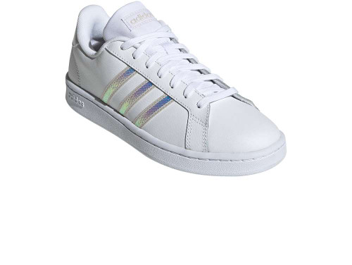 Adidas Grand Court Womens Category: Fashion Sneakers Color: White - Clear Pink - Clear Pink ItemNumber: WFY8925